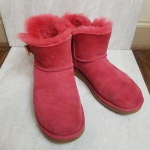 UGG Australia  Bailey Button Short Boots